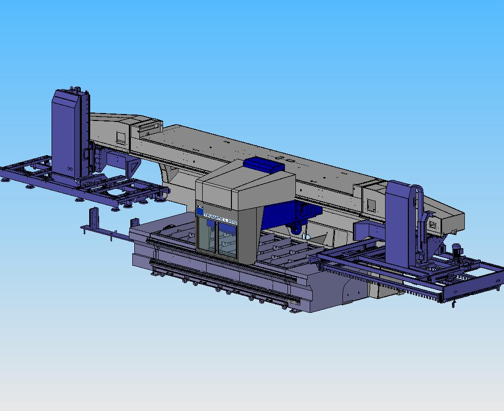 l2510 moving enclosure Isometric view
